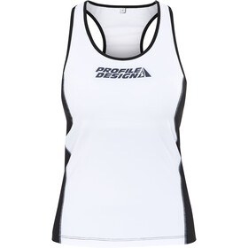 Profile Design ID Top Triatlón Mujer, black/white